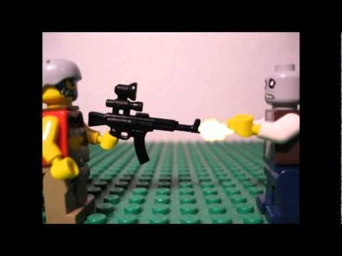 Lego Zombie Survival Guide