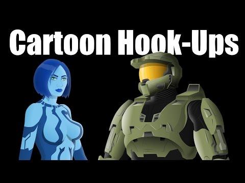 Cartoon Hook-ups: Master Chief And Cortana Pt. 1 video