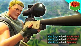 BEST SNIPER IN THE GAME! | Fortnite Battle Royale