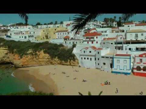 PORTUGAL: carvoeiro & algar seco (Algarve) (HD-video)
