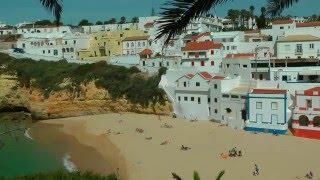 PORTUGAL: carvoeiro & algar seco (Algarve) (HD-video)