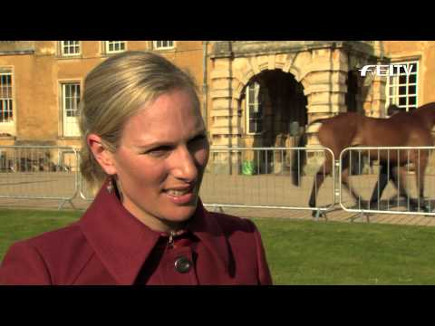 HSBC FEI Classics 2012/13 - Mitsubishi Motors Badminton Horse Trials - Zara Phillips
