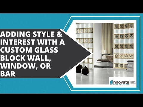Craft Ideas Glass Blocks on Designing A Custom Glass Block Home Bar  Kitchen  Commercial  Basement
