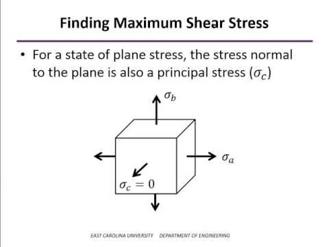 how to find principal stress on mohr circle