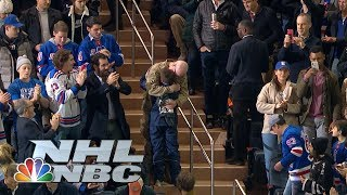 Soldier comes home to son in an emotional, must-watch reunion | NBC Sports
