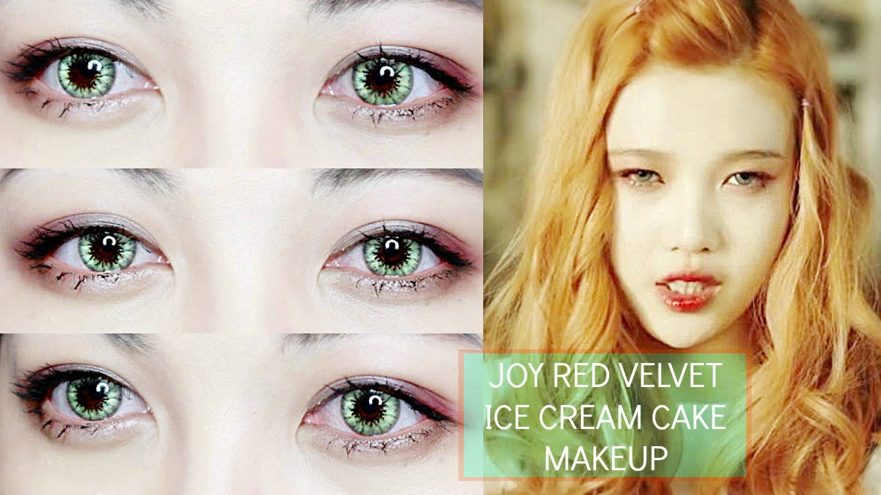 Joy 박수영 Ice Cream Cake Red