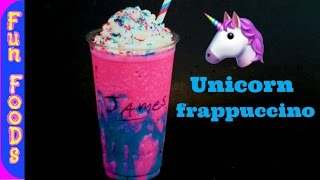 How to Make Homemade Unicorn Frappuccino | DIY Starbucks Unicorn Frappuccino