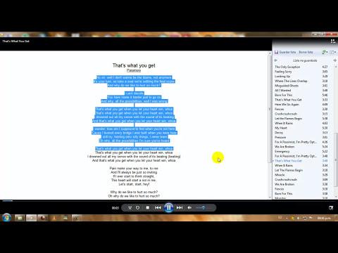 Instalar y activar el Lyrics Plugin (Letras de canciones) en WMP 12