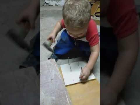 Кирюша строитель и видеооператор 😅😅😅