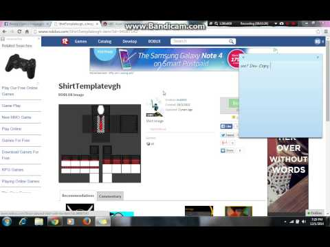 how to get free shirts roblox 2015