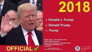 US Citizenship Naturalization Test 2018 (OFFICIAL TEST QUESTIONS)