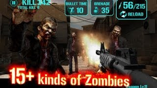 GUN ZOMBIE : HELLGATE Android & iPhone / iPad GamePlay