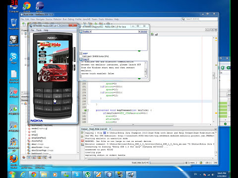 Nokia X3 Emulator Running Road Hide