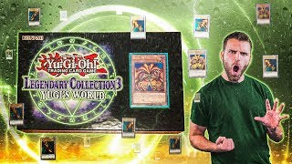 YuGiOh SEARCH for all 15 Pieces of EXODIA! | GODLY Legendary Collection Yugi's World Unboxing
