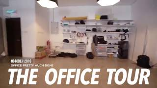 FIRST OFFICIAL OFFICE TOUR // Setting up an office from scratch
