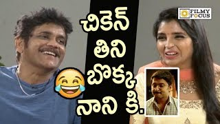 Nagarjuna about Fun with Nani in Devadas Movie and Sets