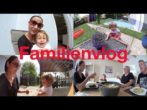 Familienvlog | Luna und die Katze | Spaß im Garten | LUMELOWU