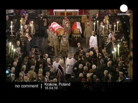 Lech Kaczynski's funeral
