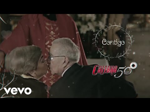 Calibre 50 - Contigo (Lyric Video)