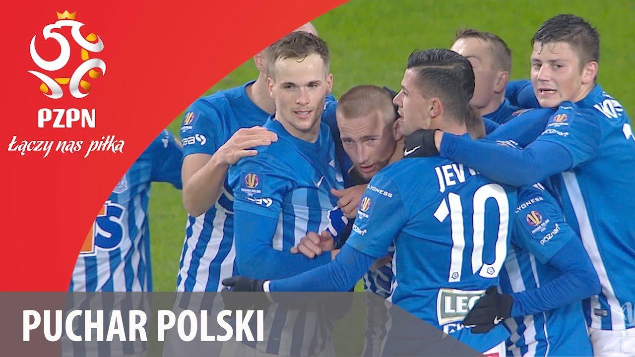 Puchar Polski: Kolejne efektowne zwycięstwo Lecha