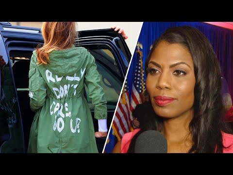 Omarosa Claims Melania Trump Was Punishing President With 'Don't Care' Jacket