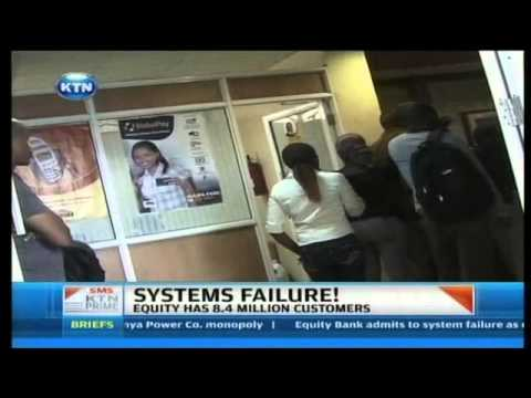 Equity bank systems now up and running