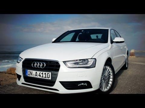 Тест-драйв Audi A4 FL 2012