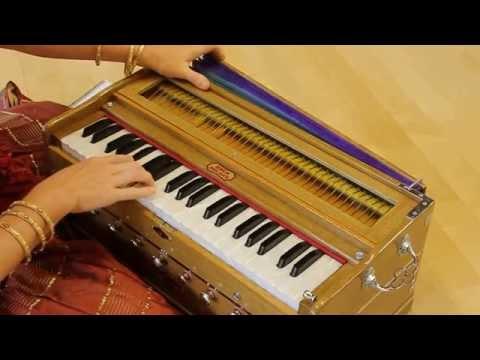 Gopala Gopala Devaki Nandana Gopala played on harmonium (SRYBC...