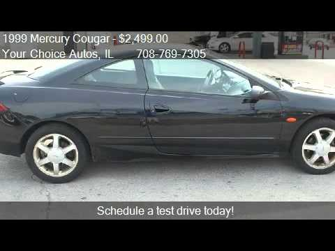 1999 Mercury Cougar V6 - for sale in Posen, IL 60469