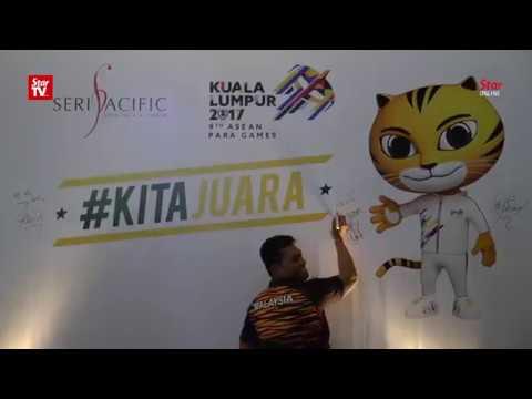 Malaysian athletes ready for the Asean Para Games