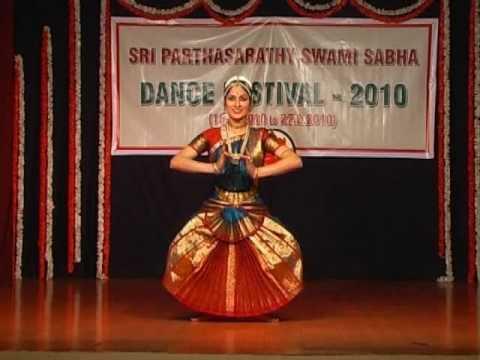 Janaki Rangarajan - Bharatanatyam video