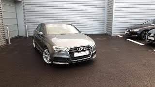 181D29072 - 2018 Audi A3 Saloon 1.6TDI 116 S LINE 4DR  - SAVE 6889 FROM ONL...