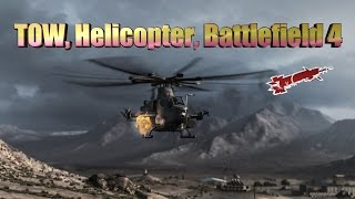 Attack helicopter in Battlefield 4