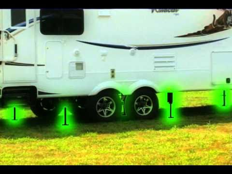 RV Leveling System Wildcat 5th Wheel RV