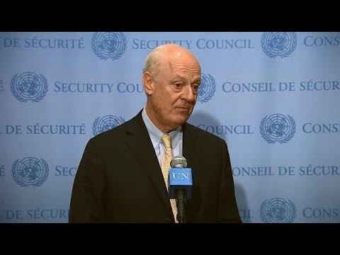LIVE: Syria talks wrap up in Geneva - Final press conference with Staffan de Mistura