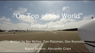 "Download Lagu ""On Top of the World"" - Imagine Dragons Lyric Video - Carlsbad to Catalina Island (KAVX Airport) Gratis STAFABAND"