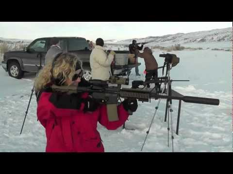 Long Range Shooting 1550 Yards - 300 Win Mag & 50 Cal