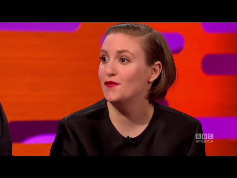 LENA DUNHAM's Funniest Text Message Ever! The Graham Norton Show on BBC AMERICA