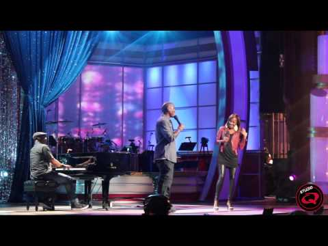 BET's COG Rehearsals - Le'Andria Johnson & Tyrese Gibson 