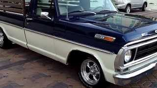 1971 Ford F100 Truck Built by Counts Kustoms---At Celebrity Cars Las Vegas