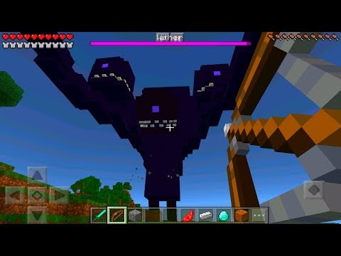Minecraft Pe - How To Spawn A Wither Storm - Minecraft Pocket Edition!!!