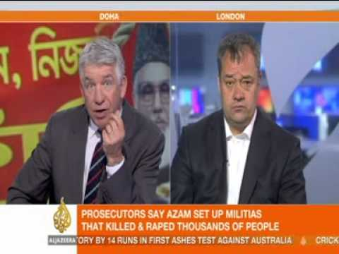 Al Jazeera Report following Conviction of Professor Ghulam Azam in Bangladesh