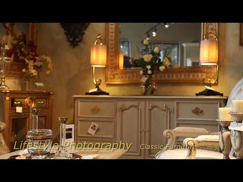 Exquisite Classical Furniture 精緻古典家具 -- Lifestyle Photography