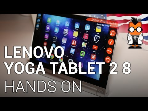 Lenovo Yoga Tablet 2 8 with Android hands on [ENGLISH]