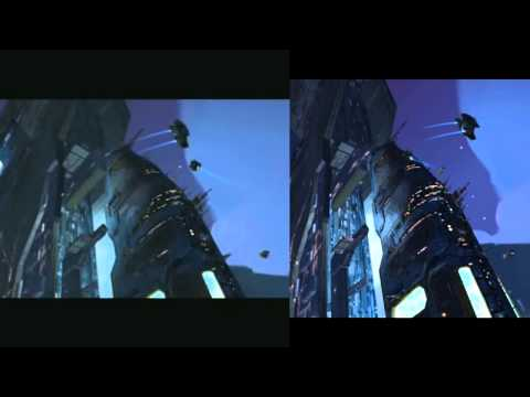 Homeworld 2 - Updated graphics comparison