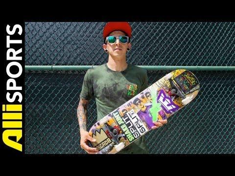 Furby's 2013 Deathwish Skateboard Setup, Alli Sports Ramiro Salcedo