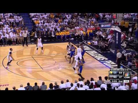 warriors @ pelicans G4 4-25-15