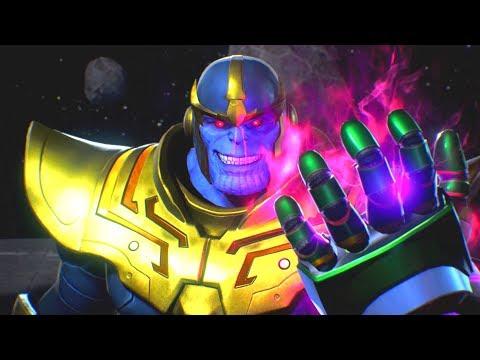 Thanos steals the Satsui no Hado from Ryu & Pays Death a Visit | Marvel vs Capcom Infinite