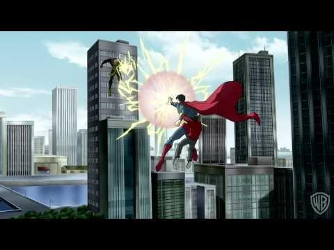 """Superman/Shazam: The Return of Black Adam"" Clip 1"