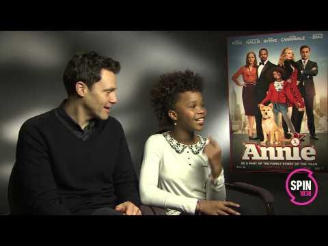 Annie - Quvenzhane Wallis & Will Gluck Interview   SPIN 1038